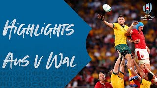 HIGHLIGHTS: Australia 25-29 Wales - Rugby World Cup 2019