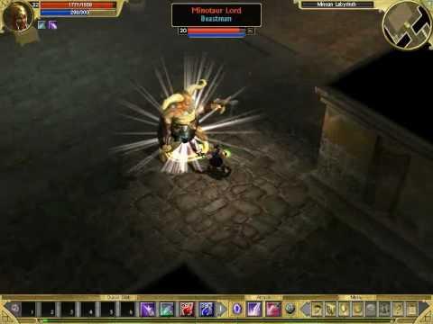 Titan Quest Gold (Steam Gift, Region Free) Gameplay