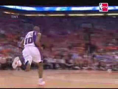 Shawn Marion steal to Leandro Barbosa- Suns vs. Spurs 2007 Game 5