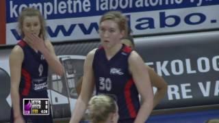 TTT Riga vs Basket 90 Gdynia – EEWBL 01.04.17 Kosice