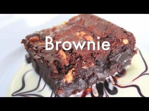 Cómo Hacer Brownie de Chocolate con Nueces - Receta Mejorada