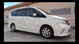2013 Nissan Serena S-Hybrid Highway Star Start-Up and Full Vehicle Tour