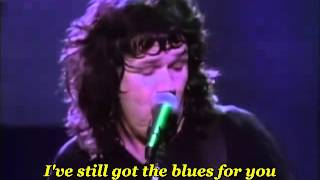 Gary Moore - Still Got The Blues ( Live At Hammersmith ) - with lyrics