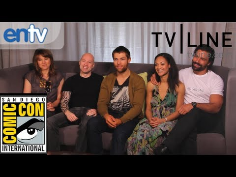 "Liam McIntyre, Lucy Lawless & ""Spartacus"" Cast Dishes Final Season, Big Bang Ending At Comic-Con"