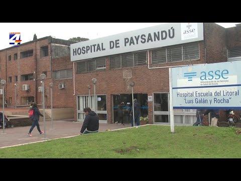 Paciente de Nuevo Berlín continuará internada en Paysandú. Nuevo test dio positivo