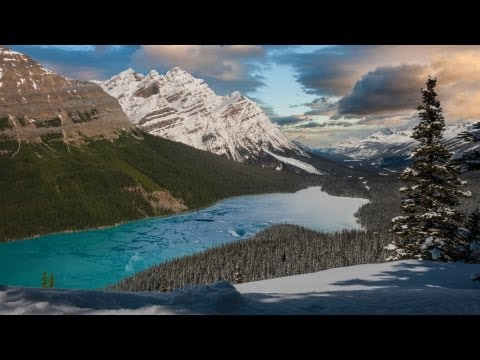 Mountains in Motion: The Canadian Rockies [HD] (видео)