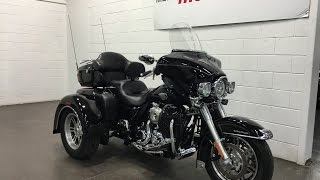 9. 2010 HARLEY-DAVIDSON FLHTCUTG SOLD  TriGlide Ultra Classic Chrome Pipes Backrest Munro Motors