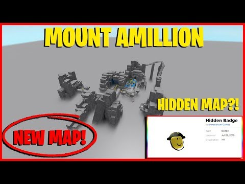 TOWER DEFENSE SIMULATOR NEW MAP MOUNT AMILLION! ALSO NEW SECRET BADGE / HIDDEN MAP!
