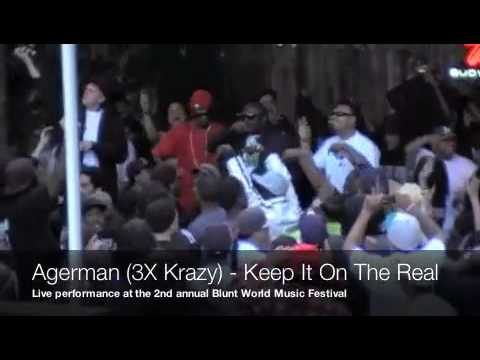 Agerman Blunt World 2010 (bay area rap music)