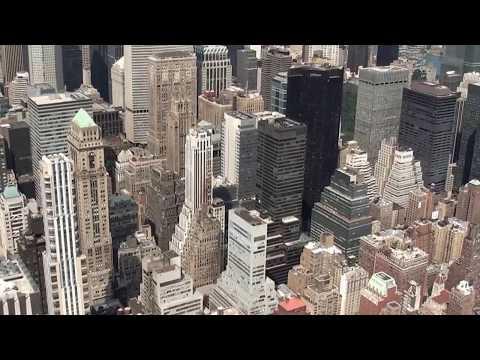 Widok z wieżowców Nowego Jorku
