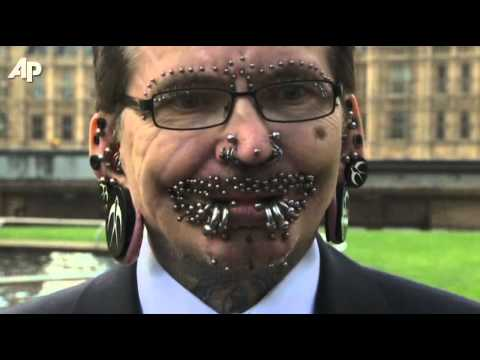 pierced - The world's most pierced man, Rolf Buchholz, has an entry in the 2012 edition of Guinness World Records. Others appearing in the new book include the world's...