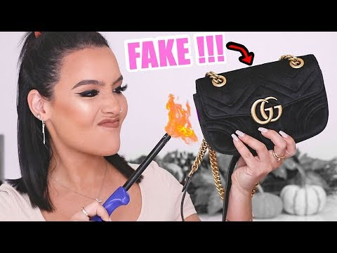 SCAMMED: I Was Sold a FAKE Gucci Bag *WATCH*
