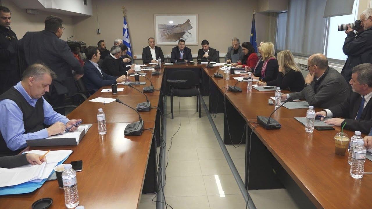 Συνεδρίαση του Δ.Σ της ΕΝΠΕ παρουσία του Γ.Γ. Πολιτικής Προστασίας Νίκου Χαρδαλιά