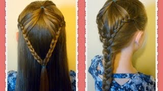 """Fairy Wings Braid"" Half Up Hairstyles For School, hair4myprincess"
