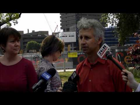 Occupy Sydney post-eviction media conference