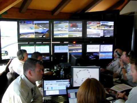 Beaux Barfield & The ALMS/IMSA Race Control Team At Mazda Raceway Laguna Seca