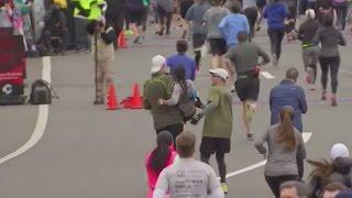 half marathon collapse