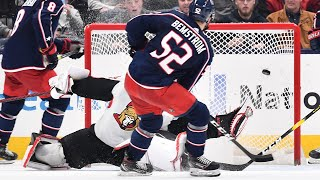 Bemstrom wins it for CBJ in overtime by NHL