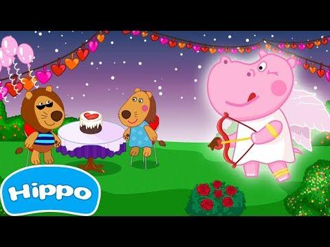 Jogos de meninas - Hippo  Cozinhar jogos  café dos namorados para meninas  Jogo de desenhos animados para crianças