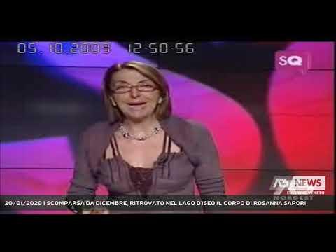 20/01/2020   SCOMPARSA DA DICEMBRE, RITROVATO NEL LAGO D'ISEO IL CORPO DI ROSANNA SAPORI