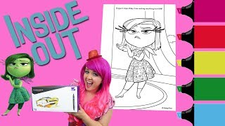 Nonton Coloring Disgust Inside Out Coloring Book Page Colored Markers Prismacolor   Kimmi The Clown Film Subtitle Indonesia Streaming Movie Download