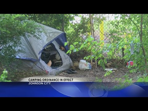 Demand for homeless shelters increase in Johnson City after camping ban goes into effect