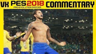 Here is a video of me playing the PES 2018 online beta with real commentary on. Welcome to the #1 Place for Player Faces on Youtube! Subscribe for FIFA 18 and PES 2018 news and player faces videos: 🔴  Subscribe to the channel here: https://goo.gl/AaHRHe .✅  Join the Vapex Club for exclusive newsletters and 2 Private videos (FIFA 18 player face suggestions and PES 2017 Mods): http://eepurl.com/cO1skn✅  Help keep this channel going!https://www.patreon.com/VapexKarma---------------------------------------------------------Available September 29, 2017. FIFA 18 is fueled by Cristiano Ronaldo, all-time top scorer of Real Madrid C.F. and winner of the Best FIFA Men's Player Award.Pre-Order the Ronaldo Edition and get 3 Days Early Access: http://smarturl.it/qoctk5Powered by Frostbite, FIFA 18 blurs the line between the virtual and real worlds, bringing to life the heroes, teams, and atmospheres of the world's game. --------------------------------------------------------PES 18 (PES 2018) is scheduled to be released on the 14th of September.Pre-order now to receive exclusive content:• 2x Premium Partner Agents for myClub• UCL Agent for myClub• Exclusive Agent for myClubYou will also receive bonus myClub content:• 4x Start Up Agents• 1x Partner Club Agent• 10,000 GP x 10 weeksPES 2018 new features:• Gameplay Masterclass – Strategic Dribbling, Real Touch+ and new set pieces take the unrivalled gameplay to the next level• Presentation Overhaul – New menus and real player images• PES League Integration – Compete with PES League in new modes including myClub• Online Co-op -A mode dedicated to co-op play is newly added• Random Selection Match – Fan favourite returns with new presentation and features• Master League Upgrade – New pre-season tournaments, improved transfer system, presentations and functionality • Enhanced Visual Reality – New lighting, reworked player models and animations covering everything from facial expressions to body movement to bring the game to life----------------------------------------------------------► Subscribe to my Other Channel https://www.youtube.com/channel/UC-OlFXbaW43YlKqfVy1Tp6g►2nd Channel featuring non player faces content (uploads occasionally): https://www.youtube.com/channel/UCjXed8aFG8cxnYm0iNQraWg?tbft=1►If you would like to Donate (just like Twitch) to support my content :  https://streamtip.com/y/vapexkarma--------------------------------------------------------► Twitter: @vapexkarma ► Facebook: @vapexkarma► Instagram: @vapexkarma► Podcast: anchor.fm/vapexkarma----------------------------------------------------------► My Best videos: https://www.youtube.com/playlist?list=PLeVkMvUsXzoEdcbKCQIIUxwTNvppKYBQo► PES 2017: Inter Milan Master League: https://www.youtube.com/playlist?list=PLeVkMvUsXzoHZBuaHdW8ieM1ROA3xD6p9► FIFA 17 vs PES 17 Player Face Comparisons: https://www.youtube.com/playlist?list=PLeVkMvUsXzoFjICBaqUzkwoDYbuLribm4----------------------------------------------------------FIFA 17 is a sports video game made by EA Sports released on the 27th of September 2016 in America and 29th September 2016 worldwide. It uses the Frostbite engine and Marco Reus is the official cover star. Available on PS4, PS3, Xbox One s, Xbox one, Xbox 360 and PC.----------------------------------------------------------Pro Evolution Soccer or PES 2017 (also known as Winning Eleven 2017 in asia) is a sports video game made by Konami for Microsoft Windows, PlayStation 3, PlayStation 4, Xbox 360 and Xbox One. The game is the 16th installment in the Pro Evolution Soccer series. It was released in September 2016 and will be compatible with PS4 Pro console. Partner clubs include Barcelona, Liverpool, Borussia Dortmund and River Plate which means they have the official stadiums and kits as well as player names.Features include improved passing, Real Touch ball control, and improved goal tending technique. The cover of the game has Neymar, Messi, Suárez, Rakitić and Piqué.Game features include adaptive AI, edit and data sharing (through option files) and Match analysis.----------------------------------------------------------------------------------Production Music courtesy of Epidemic Sound: http://www.epidemicsound.com----------------------------------------------------------------------------------#PES2018 #FIFA18 #vapexkarma #playerfaces #PES2017 #FIFA17