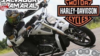 8. Harley-davidson V-Rod Muscle Acelerando