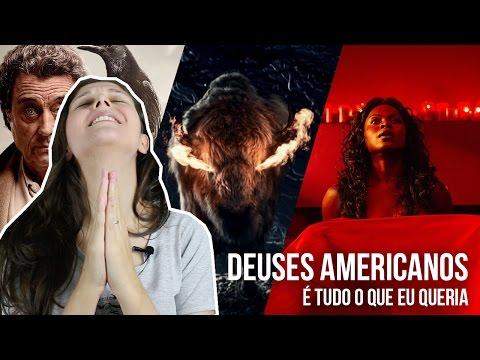 DEUSES AMERICANOS: PRIMEIRAS IMPRESSÕES DA SÉRIE (AMERICAN GODS) | Pipoca Musical