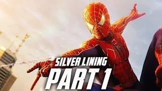 SPIDER-MAN PS4 SILVER LINING Gameplay Walkthrough Part 1 - SAM RAIMI'S SUIT