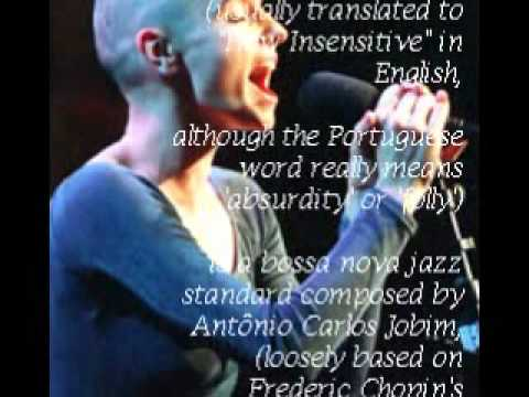 Tekst piosenki Sinead O'Connor - How Insensitive po polsku