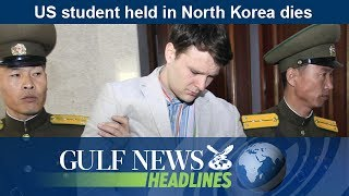 Daily headlines from the UAE and around the world brought to you by Gulf News. US student held in North Korea dies.