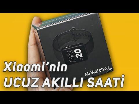 XIAOMI'nin UCUZ AKILLI SAATİ Mi Watch Lite'ı İNCELEDİM!!!