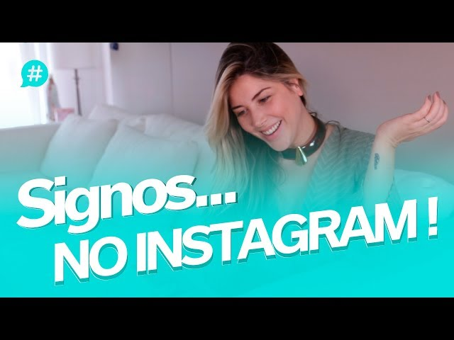 SIGNOS NO INSTAGRAM! #MiSignos | Mica Rocha | - Mica Rocha