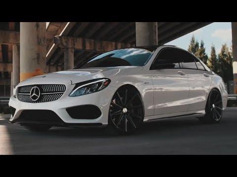 Vossen Hybrid Forged VFS-10 Wheels on Mercedes-Benz C450