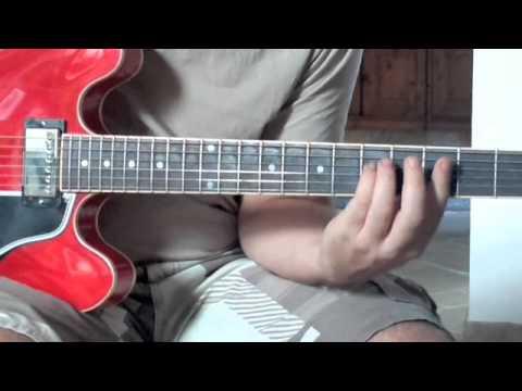 Lezione di chitarra - Accordi minori - Sol minore