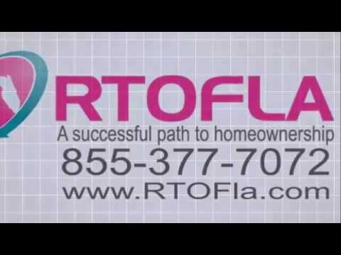 Rent to Own Florida, Advantages of Renting To Own a Home, Call us at 855-377-7072 RTOFla.com