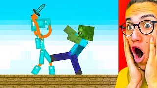 Video Reacting To THE BEST STICK FIGHT MINECRAFT ANIMATIONS! MP3, 3GP, MP4, WEBM, AVI, FLV Juni 2019