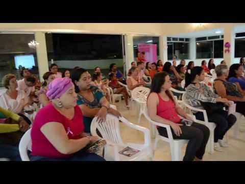 Palestra de prevenção do câncer de mama - CRAS Maripá de Minas