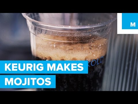 WATCH: Keurig Now Makes Kocktails