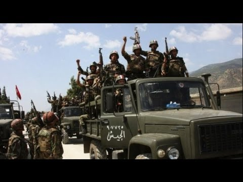 WW3 in ACTION  Syrian TROOPS Capture key REBEL stronghold DRAMATIC FOOTAGE]