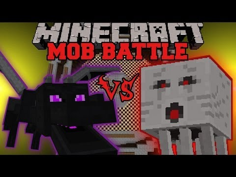 dragon - Ghast Vs Ender Dragon : Who will win the mob battle?! Don't forget to subscribe for more battles and epic Minecraft content! Facebook! https://www.facebook.c...