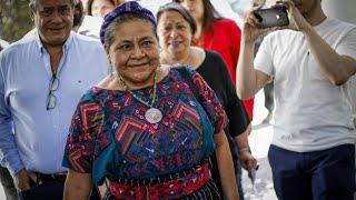 """MENCHU: """"EN CHILE DISPARAN CONTRA EL PUEBLO"""""""