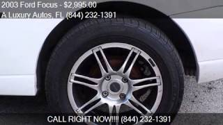 2003 Ford Focus ZX3 2dr Hatchback for sale in Miramar, FL 33