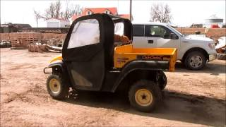 2. 2007 Cub Cadet 4X4 Trail UTV for sale | sold at auction March 25, 2015