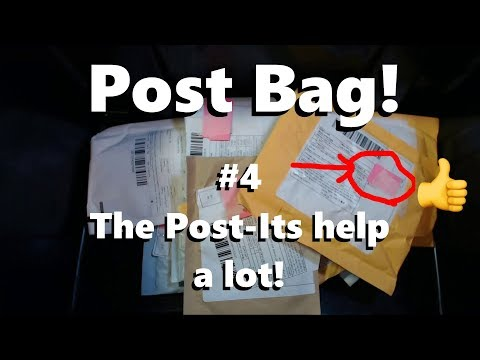 #4 Post Bag - Post-its make a big difference!