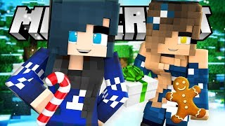 Minecraft - We're TRAPPED in a dark colde Maze! HELP!