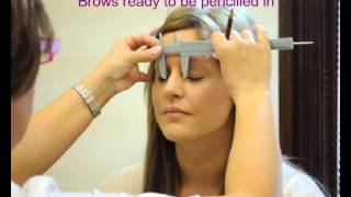 HD Eye Brows, Hair by Hair - Permanent makeup tutorial - Natural look - before and after - YouTube