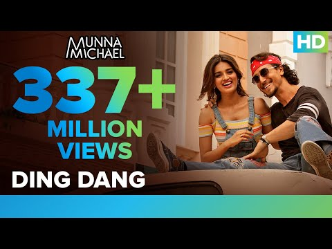 Ding Dang - Video Song | Munna Michael | Tiger Shroff & Nidhhi Agerwal