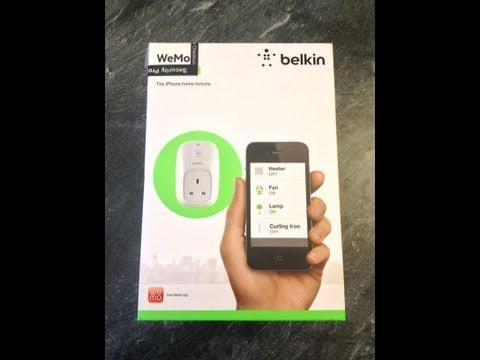 Belkin WeMo Switch (UK Plug) - Unboxing & Setup